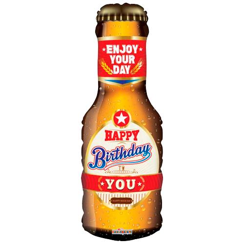 Happy birthday bierfles bestellen of bezorgen online