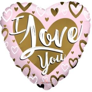 I love you goud/roze bestellen of bezorgen online