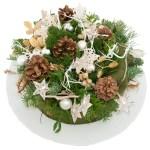 Kersttaart wit/zilver bestellen of bezorgen online