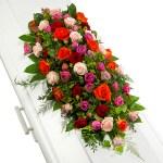 Kistversiering van rozen bestellen of bezorgen online