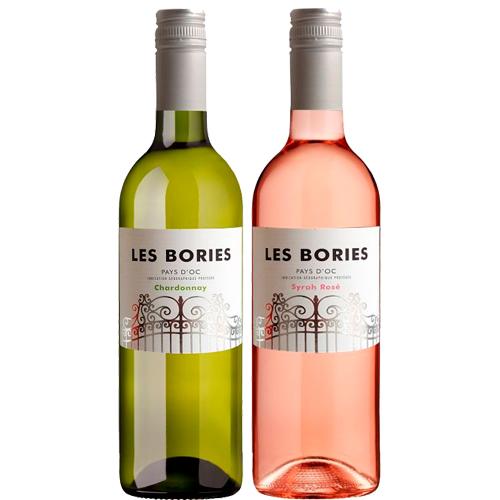 Les Bories duo chardonnay Syrah rosé bestellen of bezorgen online