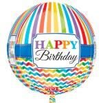 Orbz Happy Birthday Bright Stripe bestellen of bezorgen online