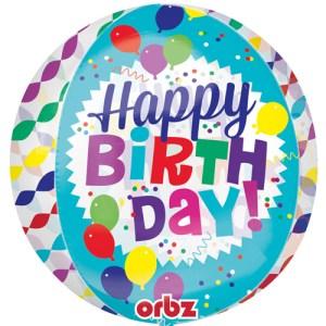Orbz Happy Birthday Streamers bestellen of bezorgen online