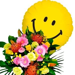 Plus Boeket smile ballon bestellen of bezorgen online