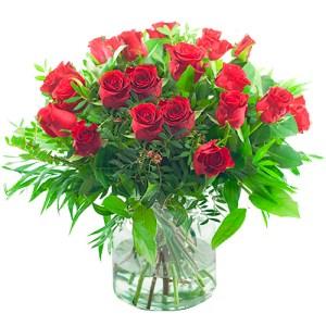 Sympathie boeket rode rozen bestellen of bezorgen online