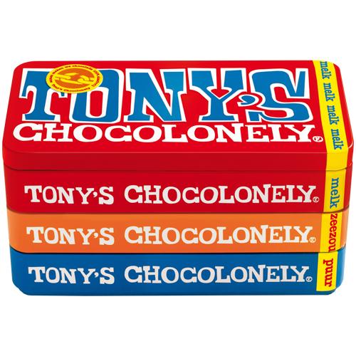 Tony's Chocolonely stapelblik bestellen of bezorgen online