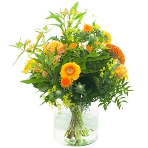 Veldboeket oranje bestellen of bezorgen online