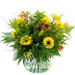 Voorjaarsboeket geel oranje bestellen of bezorgen online
