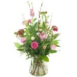 Voorjaarsboeket roze bestellen of bezorgen online