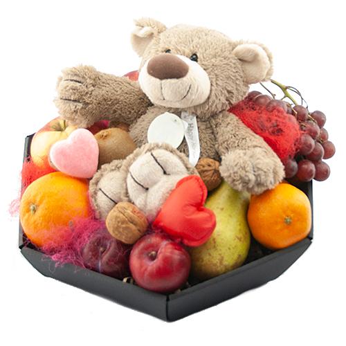 valentijn fruitmand bella bestellen of bezorgen online