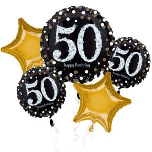 verjaardag 50 jaar ballon boeket bestellen of bezorgen online