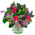 Boeket van paarse zomerbloemen bestellen of bezorgen online