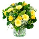 Zomerboeket geel wit bestellen of bezorgen online