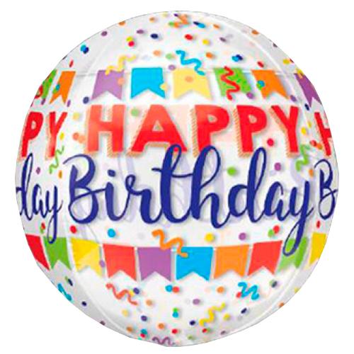 happy birthday orbz heliumballon bestellen of bezorgen online