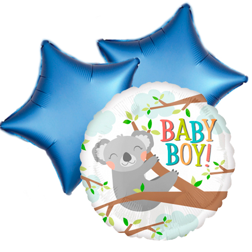 Ballonboeket koala boy bestellen of bezorgen online