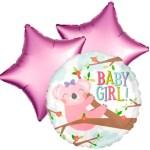 Ballonboeket koala girl bestellen of bezorgen online