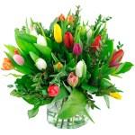 Boeket gemengde tulpen (NIET LEVERBAAR IN VERBAND MET SEIZOEN) bestellen of bezorgen online