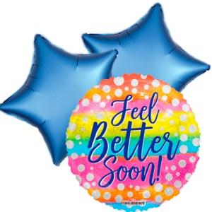 Ballonboeket Get well soon! dots bestellen of bezorgen online