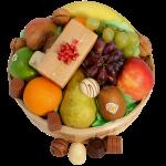 Fruitmand met bonbons bestellen of bezorgen
