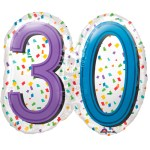 SuperShape Rainbow Birthday 30 bestellen of bezorgen online