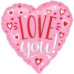 i love you! roze bestellen of bezorgen online