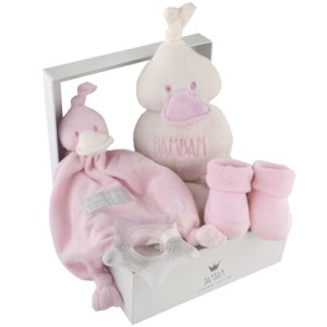 Geboorte cadeau BamBam roze bestellen of bezorgen online