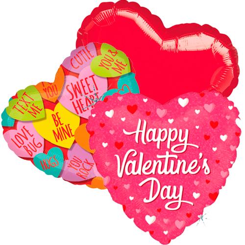 Ballonboeket valentijn candy bestellen of bezorgen online