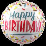 Happy birthday ballon bestellen bestellen of bezorgen