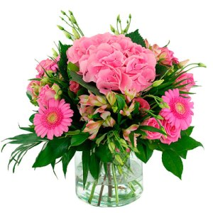 zomer boeket roze bestellen of bezorgen online