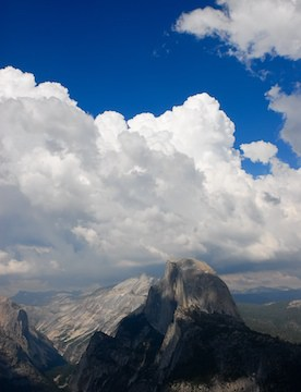 Half Dome, Yosemite National Park - from Glacier Point