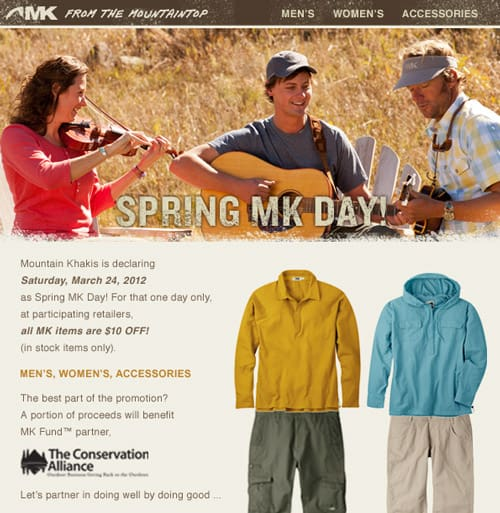 Spring MK Day! $10 Off all MK items
