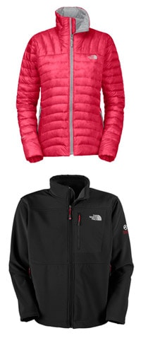The North Face Thunder Micro Jacket for Women and Summit Thermal Jacket for Men