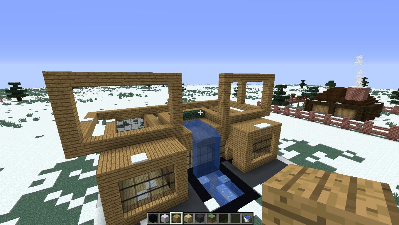 Чертежи дома в майнкрафт. Как построить красивый дом в Minecraft (Майнкрафт)