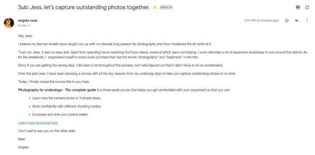Conseils de marketing par e-mail