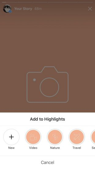 Free Instagram Stories Highlight Icons