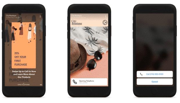 Snapchat parler en glissant par téléphone ou fonction de texte