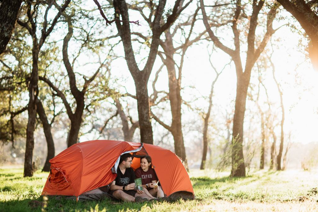 The Sunda is... a tent! Complete with rainfly. The same fabric that suspends you in the air between trees keeps you comfortable and protected on the ground.