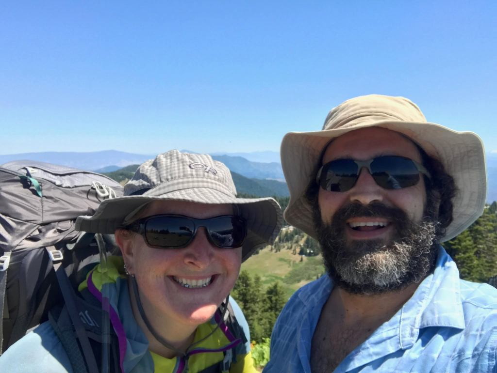 Hikers prepare for the PCT