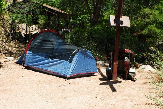 grand canyon river permits: indian garden campground