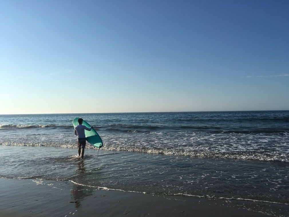 surfing in New England State Parks