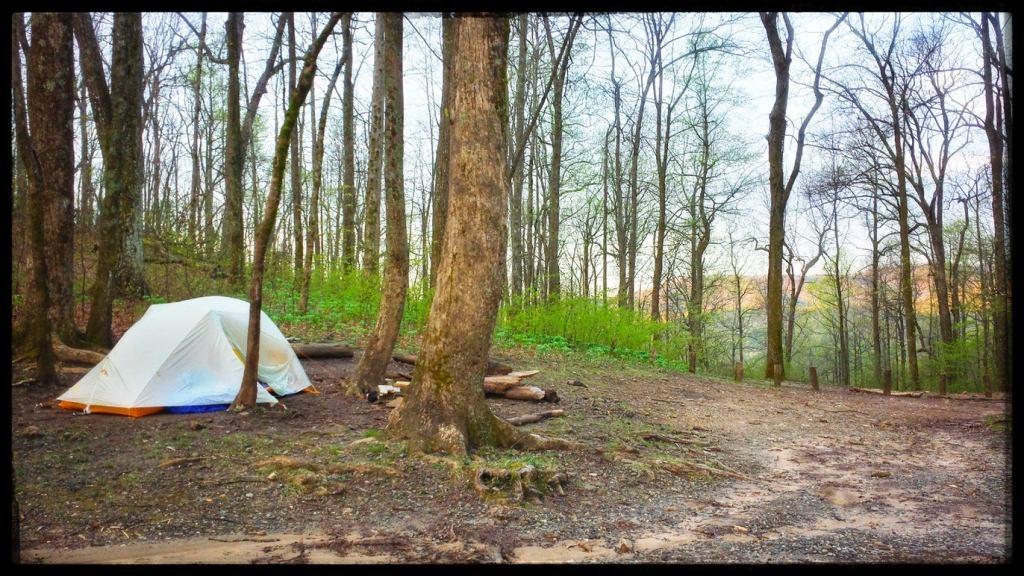 camping along the appalachian trail