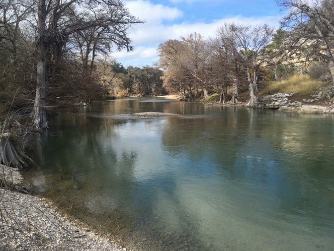 river fishing at guadalupe river