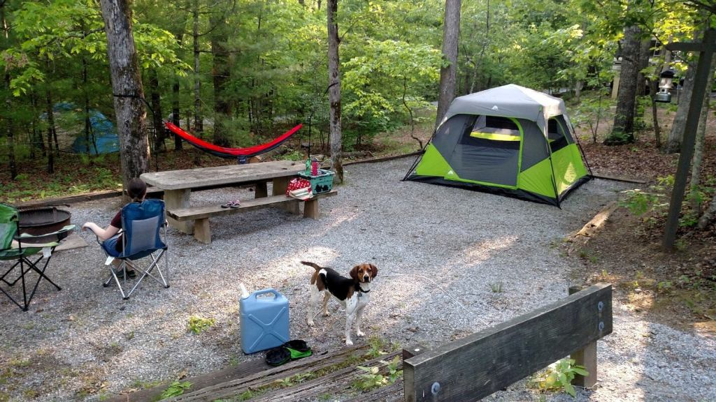 lake powhatan campgrounds in north carolina