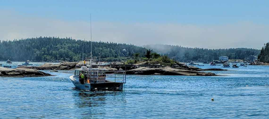 find camp jobs on the water like in a lobster boat