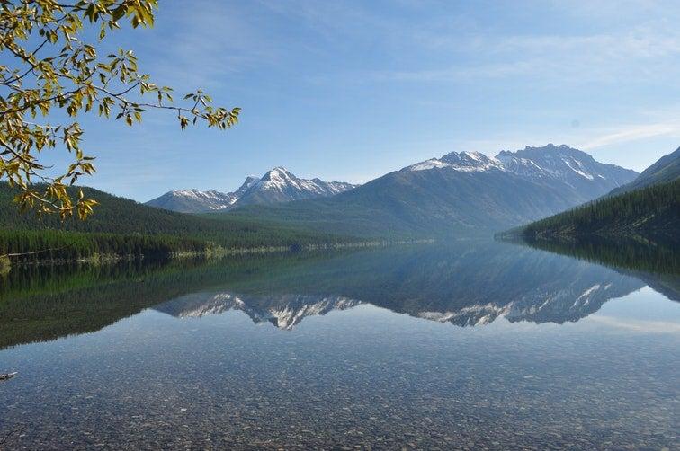 kintla lake campgrounds in montana