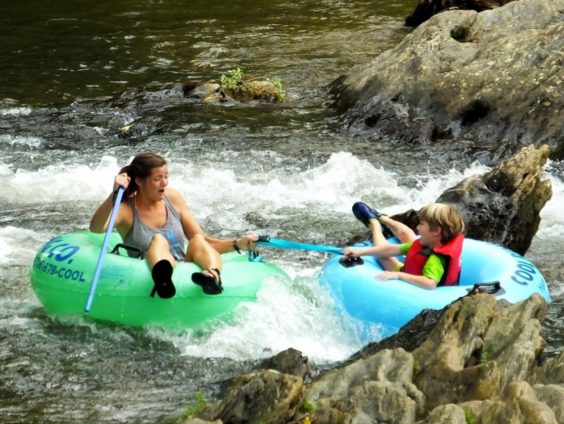 Camp and Float Along These 7 Chattahoochee River Tubing Spots