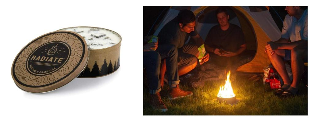 Radiate Portable Campfire — The Dyrt's Top Gifts Under $50