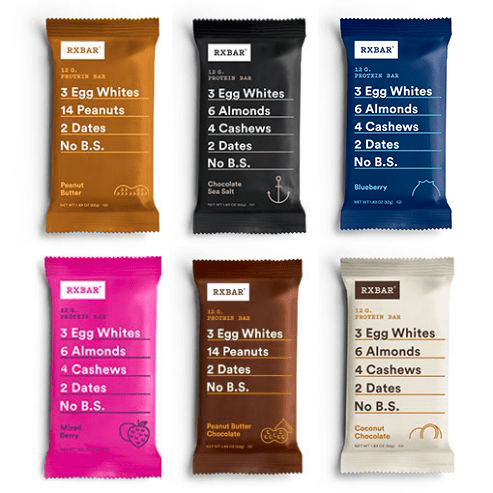 RXSBAR Snack Bar — The Dyrt's Top Gifts Under $50