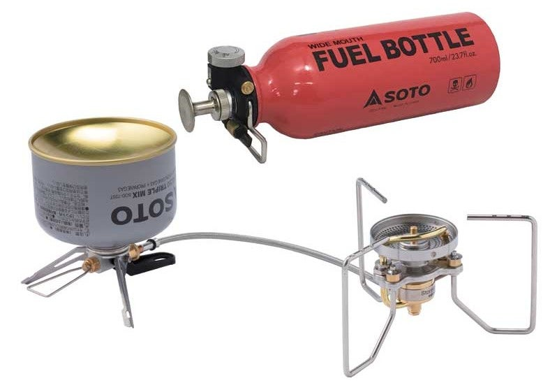 product image of soto stove and fuel bottle