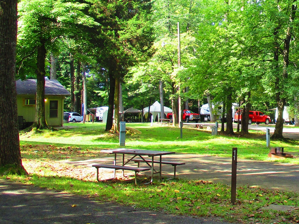 my old kentucky home state park campground